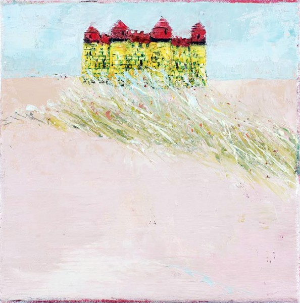 Bouncy Castle, 20 x 20cm, Oil on canvas, 2009