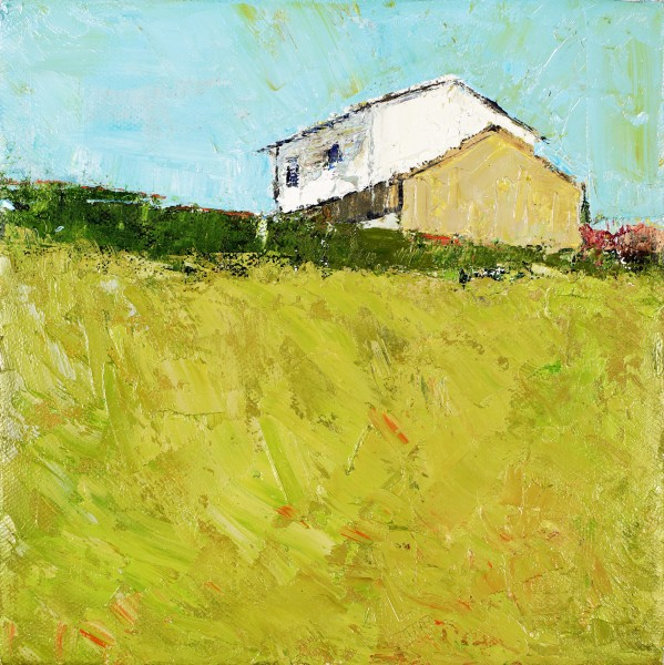 Sunny Aspect, Oil on canvas, 10 x 10cm, 2011