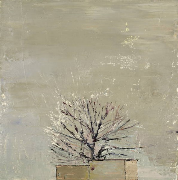 Utitlity Tree, Oil on canvas, 30 x 30cm, 2011
