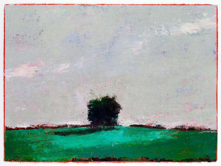 Anciennes, 56 x 76.5 cm, Oil on prepared card, 2012