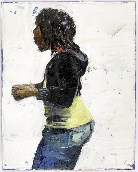 Back, 25 x 18 cm, oil on linen, 2008