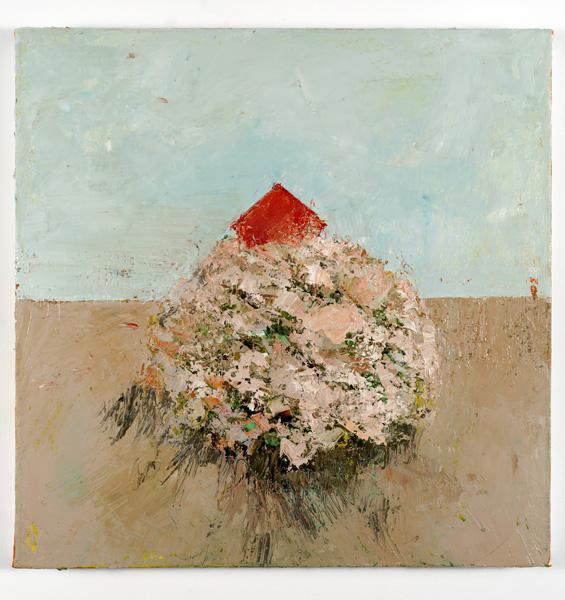 Natural Bouquet, 40 x 40 cm, Oil on canvas, 2013