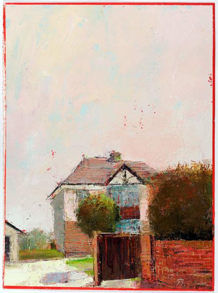 Rosy, 38 x 28 cm, Oil on prepared card, 2012