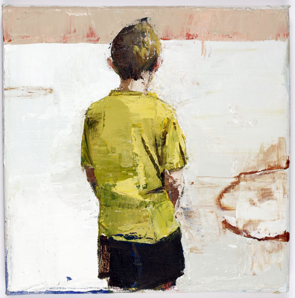 Shy Boy, 20 x 20 cm, oil on canvas, 2008