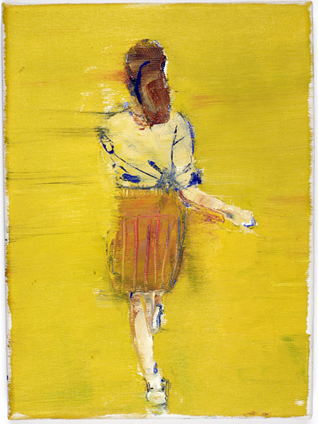 Snap, 24 x 18 cm, oil on linen, 2008