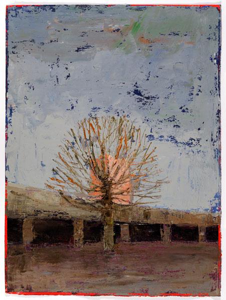Framed, 38 x 28 cm, Oil on prepared card