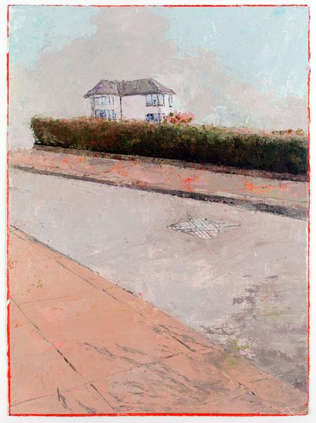 Moderne, 76.5 x 56 cm, Oil on prepared card, 2012