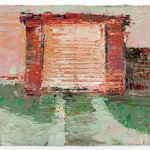 Sweetheart Garage, 10.5 x 14.5 cm, Oil on prepared card, 2012