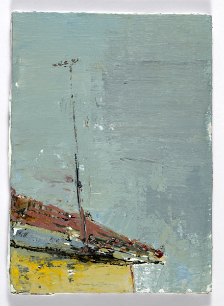 Airy Aeriel, 14 x 10.5 cm, Acrylic on card, 2012