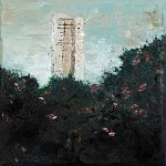 TOWER, 15 x 12.5 cm, Oil on Canvas, 2014