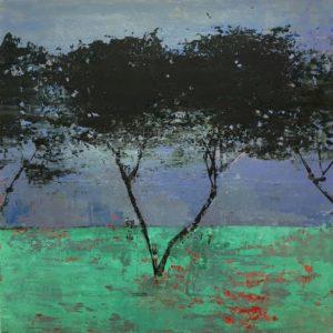 'Velvety' oil on canvas 30 x 30cm 2019